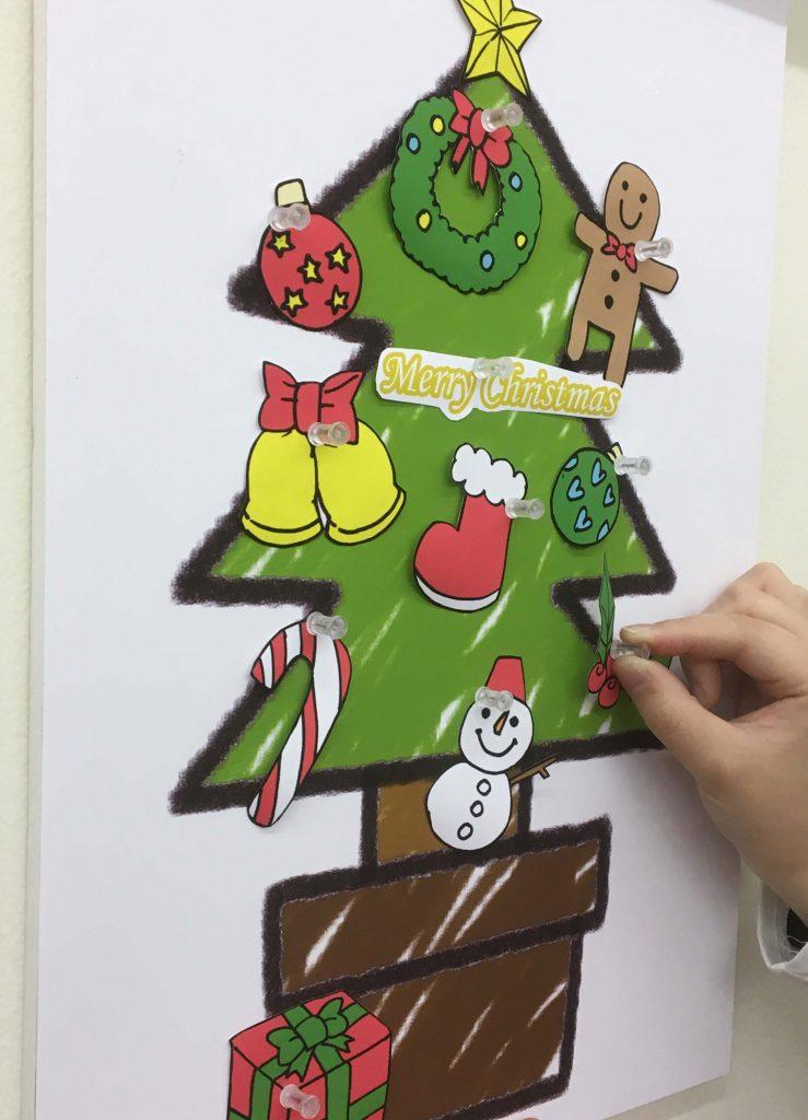 クリスマスツリーパネル