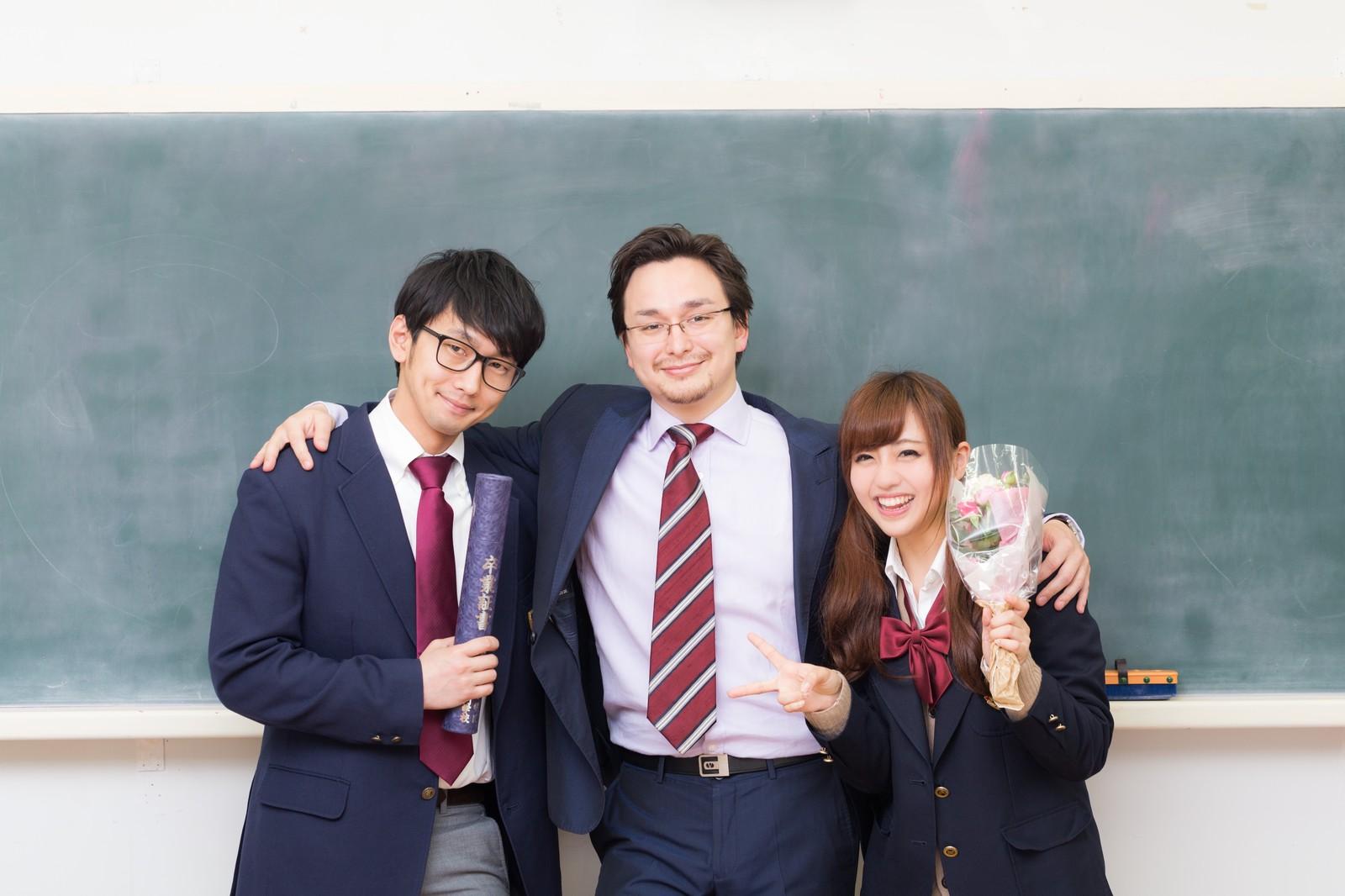 卒業式写真