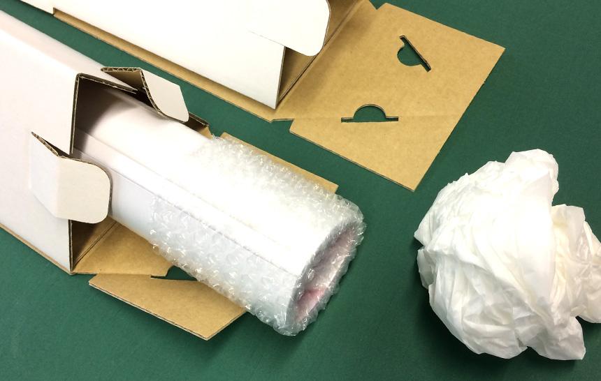 三角ボックス梱包材