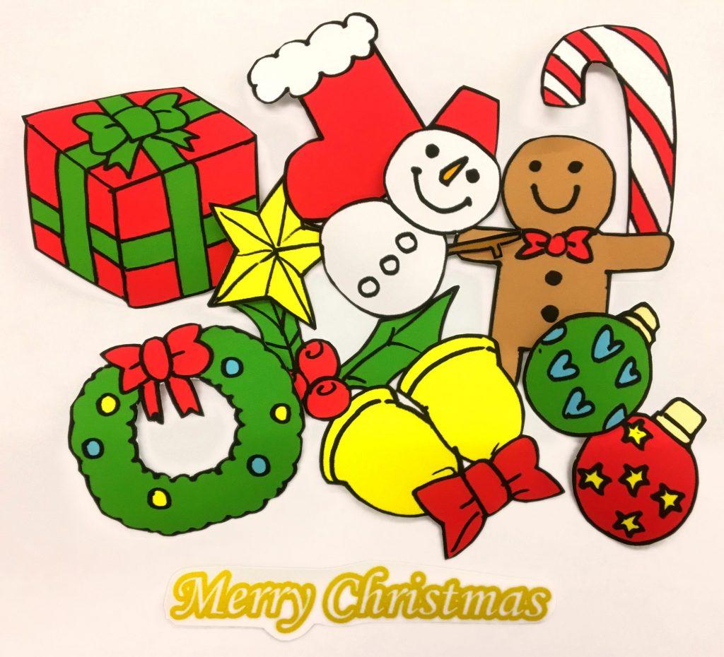 クリスマスツリーのオブジェ