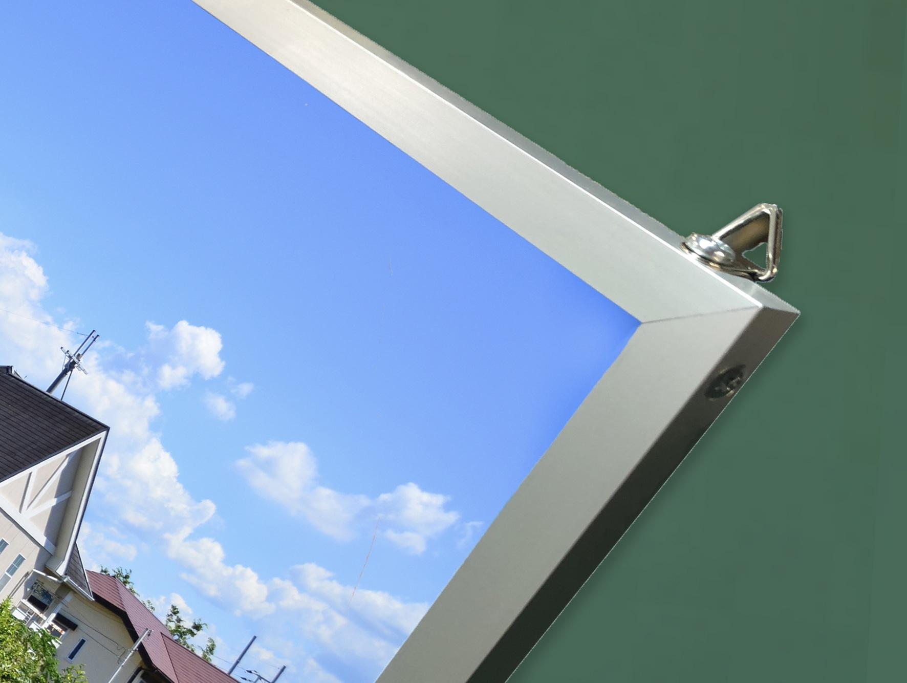 ポスター+パネル+フレーム加工の表面画像